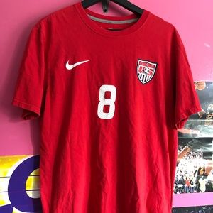 Nike USA Clint Dempsey Red Soccer T Shirt